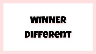 Winner - Different