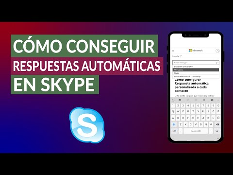 Cómo Conseguir Respuestas Automáticas en Skype Fácilmente