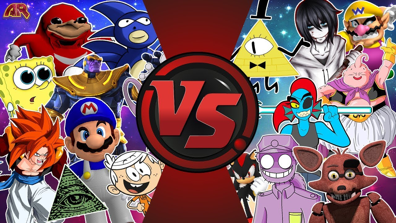 Cartoon Fight Club Ultimate Showdown 3.5! (Mario Vs