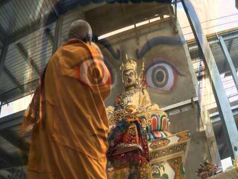 Lama Zopa Rinpoche at the Bendigo retreat 2011