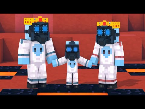 Alien & Villager Life 1 - Minecraft Animation