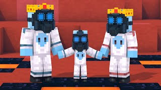 Alien & Villager Life 1 - Minecraft Animation