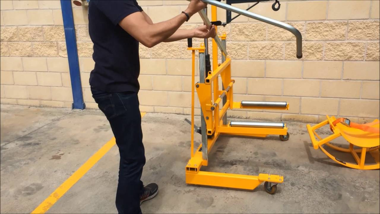 universal dolly wheel brake changer youtube