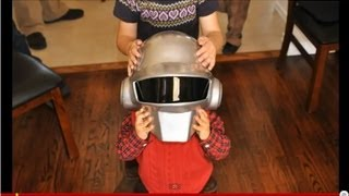 How to build a Daft Punk helmet in 7 days