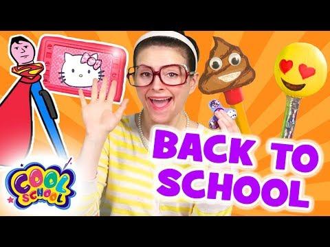 Back to School COMPILATION✏️Fidget Spinner+MORE! ✏️School Crafts with Crafty Carol | Crafts for Kids