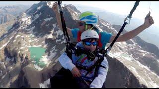 Parapente au Pic Blanc 3300M - Alpe d'Huez
