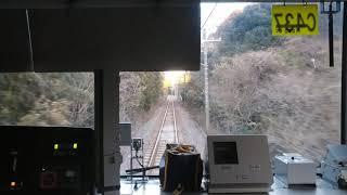 【前面展望】JR鹿島線209系鹿島神宮行き「延方駅でB.B.BASEに遭遇!」