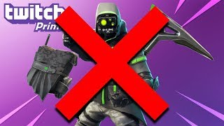 the TWITCH PRIME PACK #3 is CANCELLED in Fortnite..