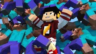 Minecraft: SKY WARS - JOGANDO EM SERVIDOR PIRATA  ‹ AM3NIC ›