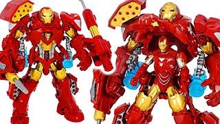 Фото Avengers Iron Man Stark Tech Assault Armor Suit Mounting  Dudupoptoy