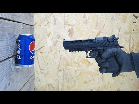 SHOOT ON PEPSI COLA CAN! Will It Survive?