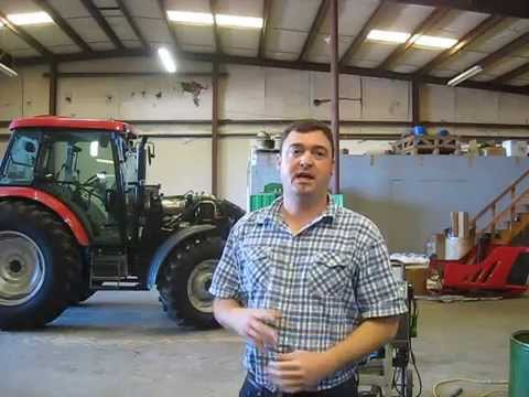 Servicing and operating a Mahindra Max tractor