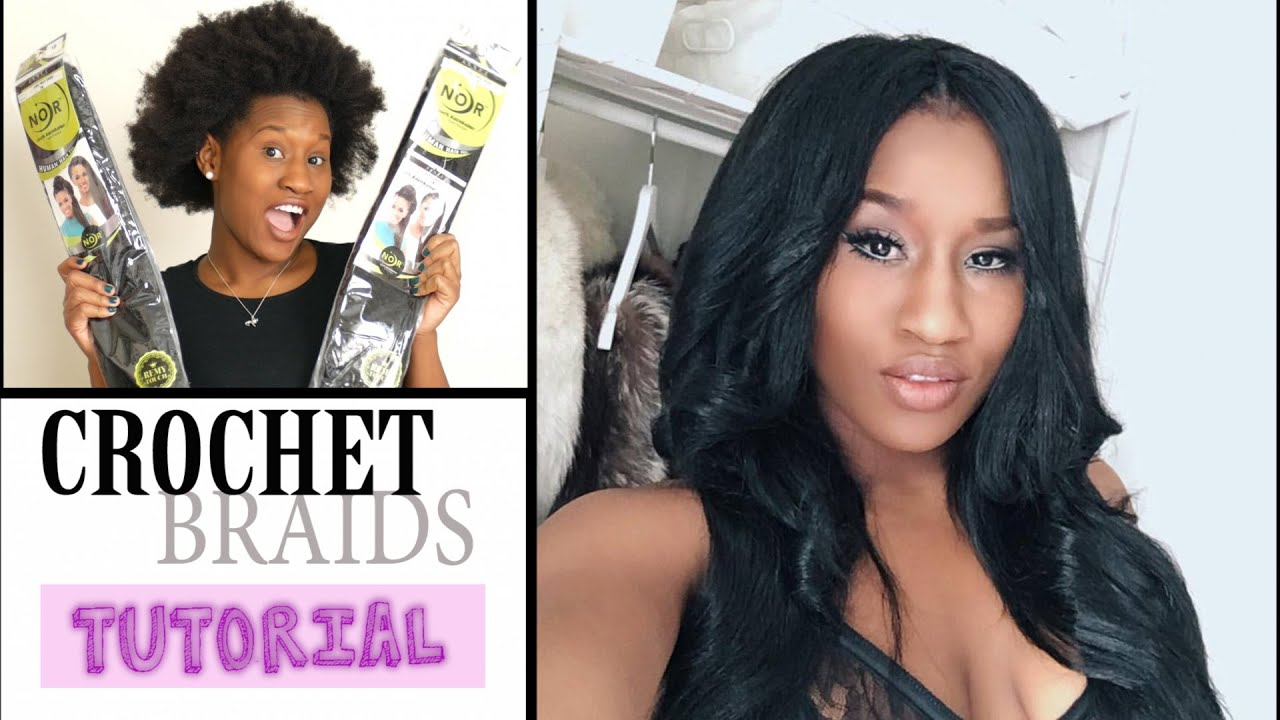 Say What 😱😱 NO LEAVE OUT crochet braids tutorial