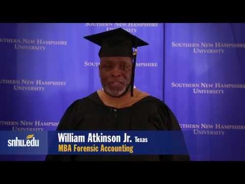 Alumni Testimonial, MBA in Forensic Accounting, SNHU
