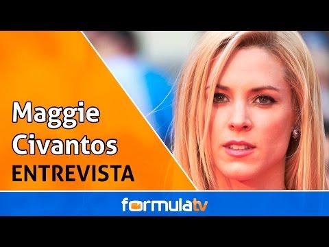 Maggie Civantos explica cómo fue rodar 'Vis a vis' (2x07) y se moja: ¿ se queda con Rizos o Fabio?