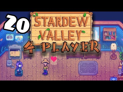 Level Up with Abigail - #20 -Stardew Valley Multiplayer BETA! (4-Player Gameplay)