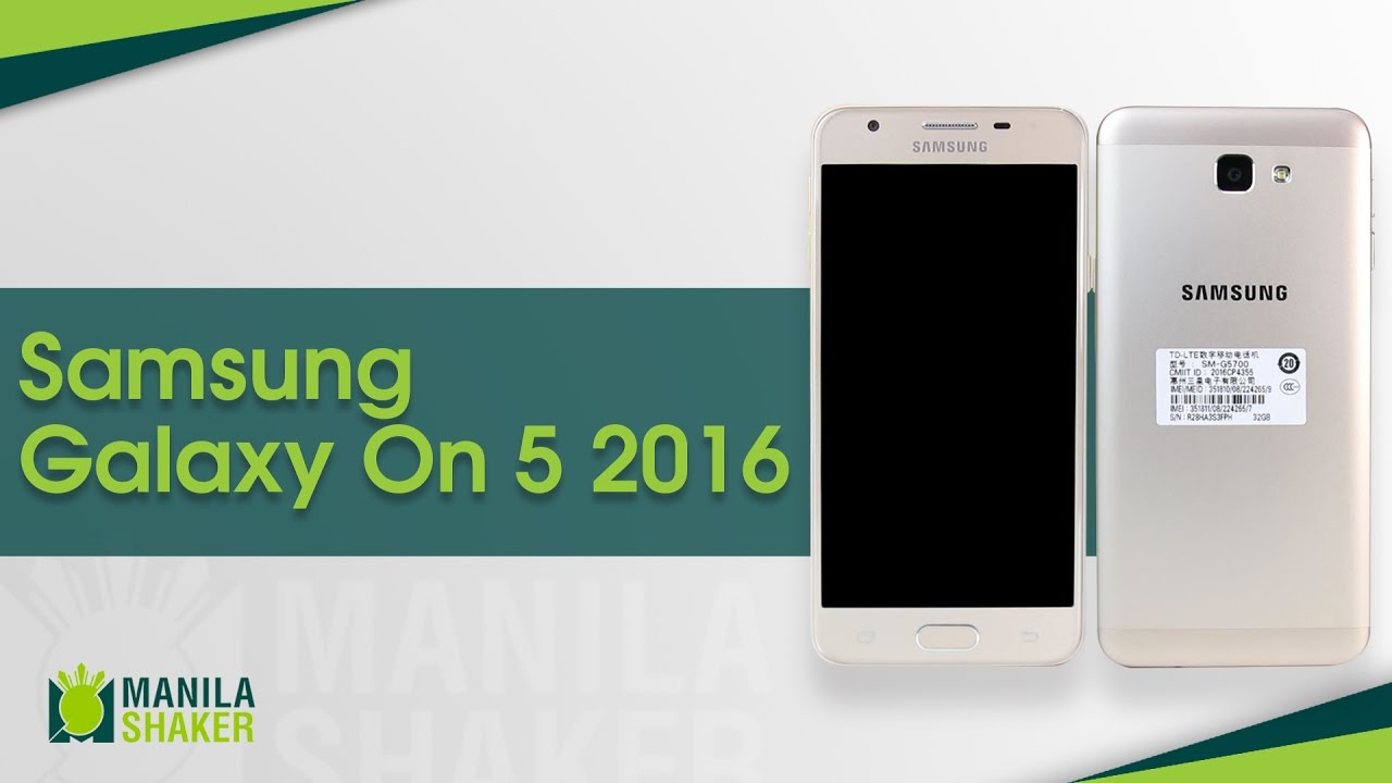 Samsung Galaxy On5 2016 Full Review