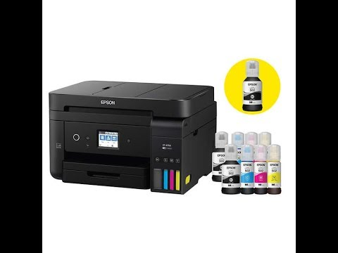 Epson ET 4750 Unboxing, Setup and Review