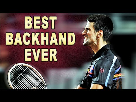 Arguably the best backhand ever!