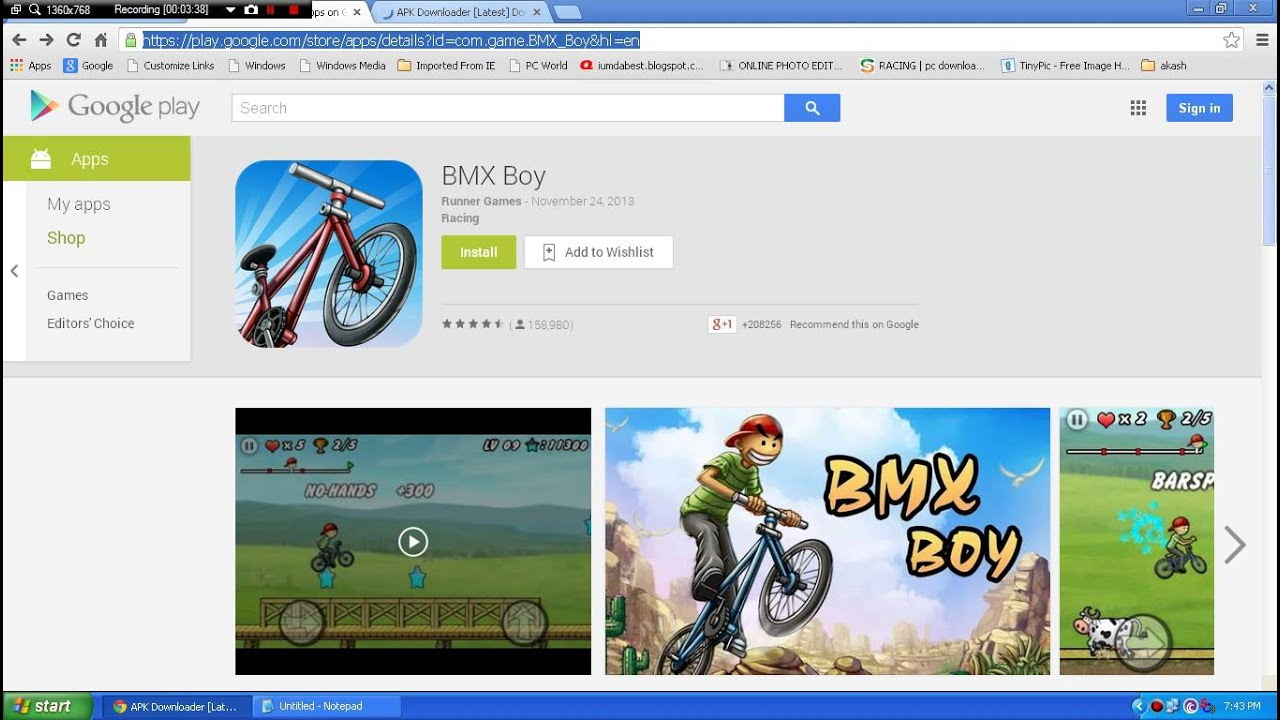 How To Download Games From Google Play On Your Pc Youtube