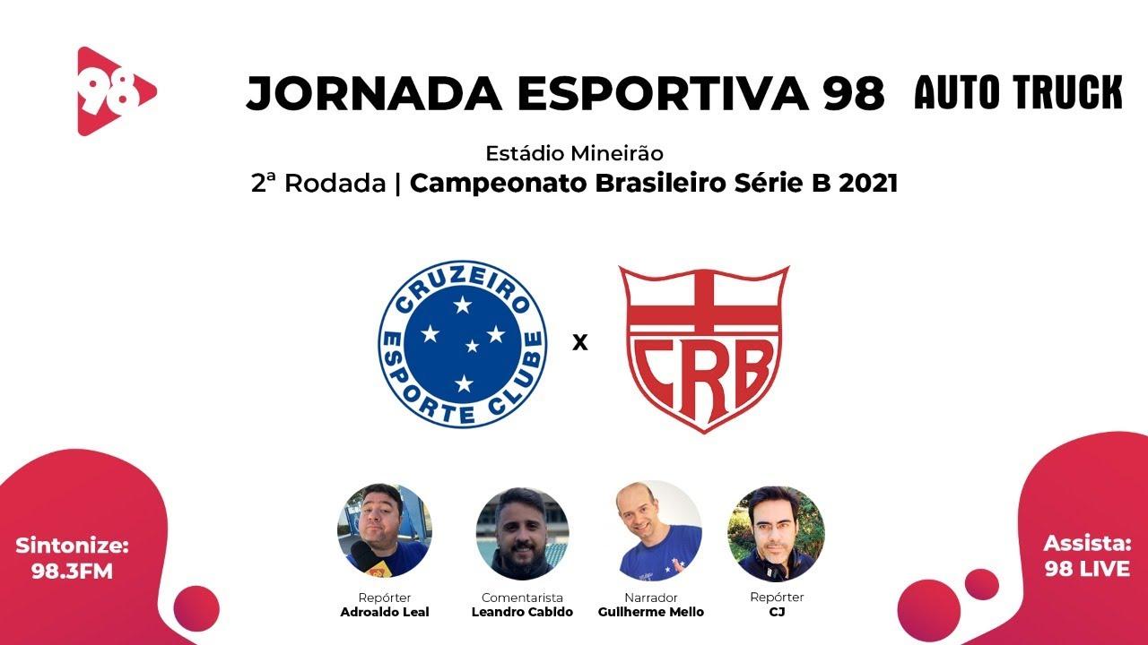 Download CRUZEIRO X CRB - 2ª RODADA CAMPEONATO BRASILEIRO SÉRIE B - AO VIVO RÁDIO 98FM