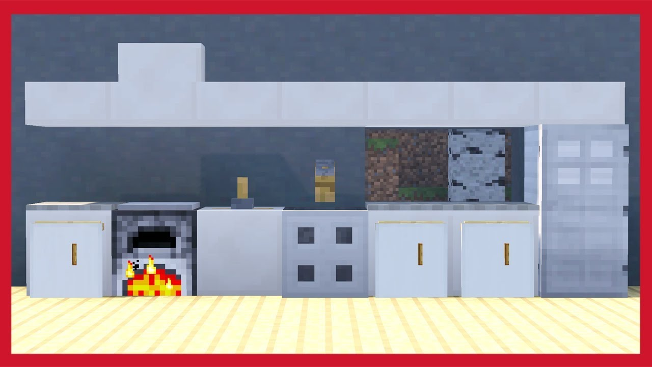 Minecraft: Come Fare Una Cucina - YouTube