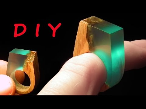 Thumbnail: How to make Secret Wood Ring Blue