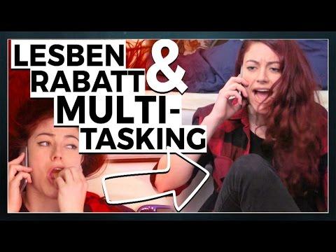 Rabatt für Lesben & mieses Multitasking beim Telefonieren   Tahnee