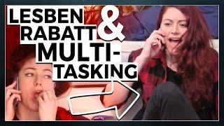 Rabatt für Lesben & mieses Multitasking beim Telefonieren