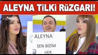 Söylemezsem Olmaz stüdyosunda Aleyna Tilki rüzgarı! - YouTube
