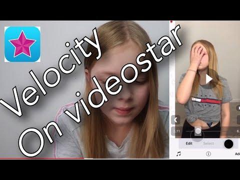 Velocity On Videostar Tutorial