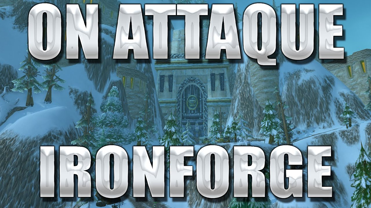 world of warcraft how to get to ironforge airbase