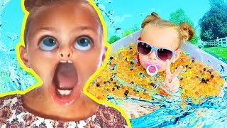 Silly Sister Summer FUN | Compilation | FunPop!