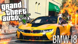 GTA 5 Моды: BMW i8 - Самая лучшая машина!(GTA 5 МОДЫ - рубрика, в который мы с вами смотрим на различные моды для GTA 5. Сегодня мы с вами посмотрим такой..., 2016-01-05T12:00:01.000Z)