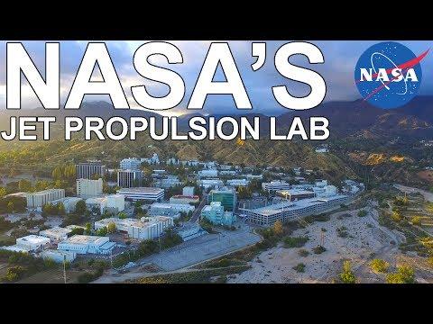 NASA Jet Propulsion Lab Drone Footage
