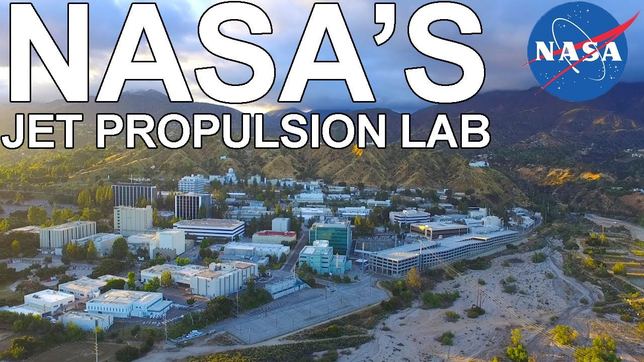Nasa Jet Propulsion Lab Drone Footage Youtube