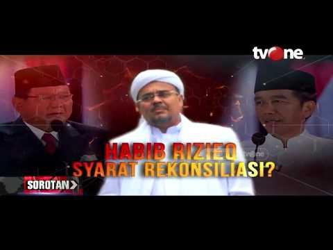 Habib Rizieq Syarat Rekonsiliasi?   Sorotan TvOne (10/7/2019)