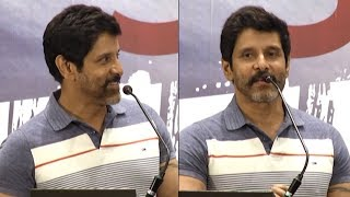 Vikram's New Host Avatar - Sketch Success Meet | Tamannaah | Thaman SS