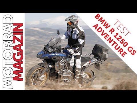 Bmw R 1250 Gs Adventure Test 2019 Gelände Check Der Abenteuer