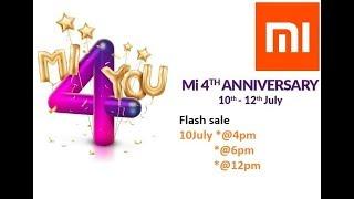 Mi Flash sale at Rs4