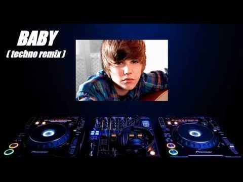 Justin Bieber - Baby (techno remix by Dj Monitor One)