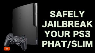 PlayStation 3 Jailbreak 4.85 CFW Complete Tutorial Safe Install Mod PS3