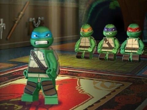 Мультик: Лего Черепашки Ниндзя Супер бойцы / Lego Ninja Turtles Super fighters
