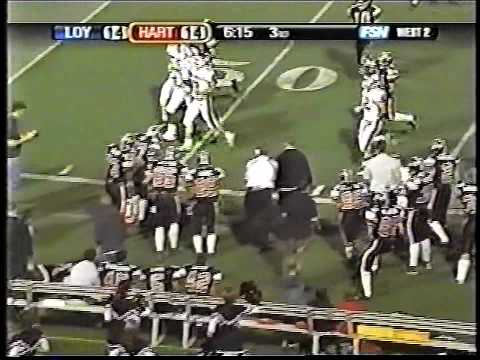 Hart High School Football  James Wheeler 2005 Highlights pt.1