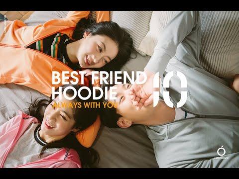 LIMEORANGE - HOODIE 10 - BEST FRIEND HOODIE