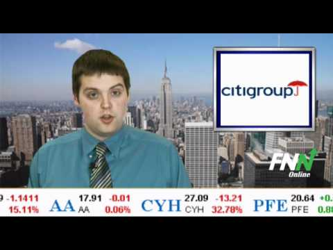 Citigroup Lower; Puts European Headquarters Up For Sale