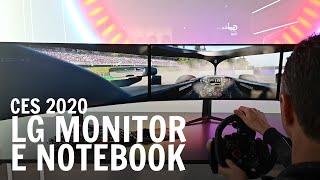 LG: nuovi monitor, per giocatori e non, e notebook dal CES