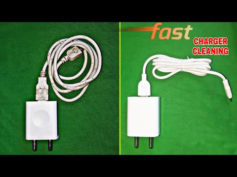 How to clean your Phone Charger Simple and Easy Amazing Result.
