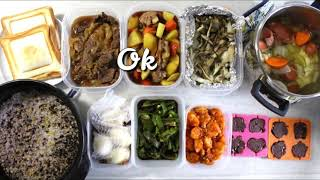 1時間で10品作り置きレシピ 01/29  10 meal preps in 1 hour