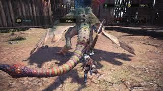 Аренки - это очень сложно! - Monster Hunter World